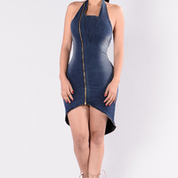 Well Rounded Dress - Medium Dark