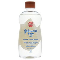 Johnson's Baby Oil, Shea and Cocoa Butter Oil