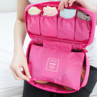 Hot Pink Multi-function Travelling Cosmetic Bags
