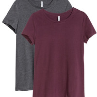 2-pack Tops - from H&M