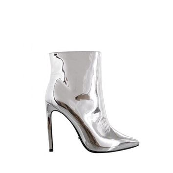 SAGE Shiny Ankle Boot