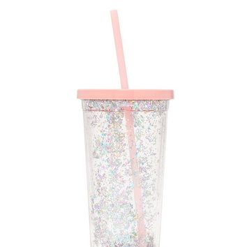 Glitter Bomb Deluxe Sip Sip Tumbler by Bando