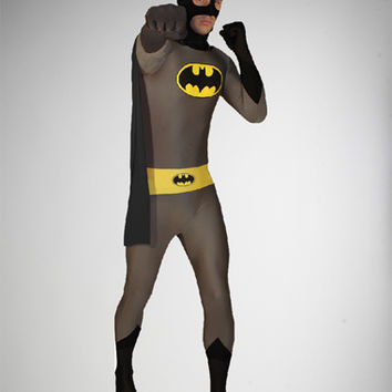 Batman Zentai Body Suit