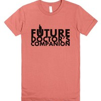 Future Doctor's Companion-Female Pomegranate T-Shirt