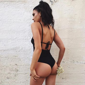 Awesome Summer Women Beach One Piece Swimsuit