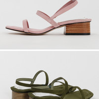 프롬비기닝 [Sweat double strap sandal_H (size : 225,230,235,240,245,250)]