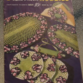 Vintage HandNHook Living Room & Decor Accessories Crochet Pattern Booklet