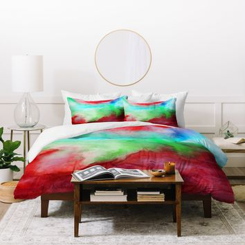 Jacqueline Maldonado The Red Sea Duvet Cover