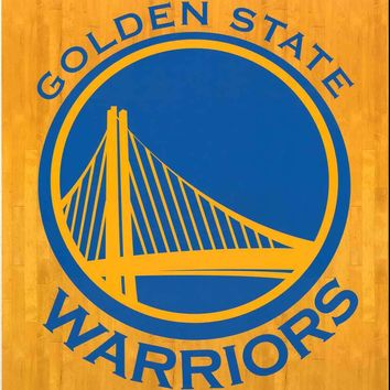 Golden State Warriors NBA Team Logo Poster 22x34