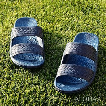navy blue classic jandals? - pali hawaii sandals