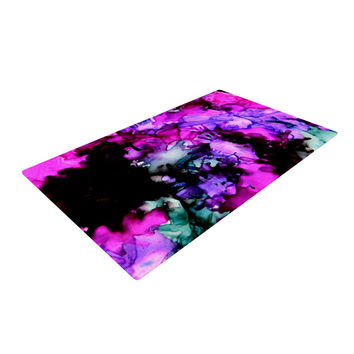 "Claire Day ""Siren"" Pink Purple Woven Area Rug"