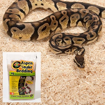 Zoo Med Aspen Snake Bedding | Reptile Substrates from DrsFosterSmith.com