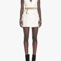 Tweed mini-dress | Women's dresses | Balmain
