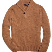 Saxxon® Wool Shawl Collar Sweater - Brooks Brothers