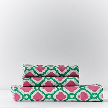 Trellis Splash Sheet Set