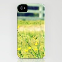 Just a Country Girl... iPhone Case by RDelean | Society6
