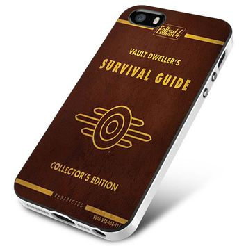fallout 4 Survival Guide Collector's cover iPhone 5 | 5S | 5SE Case Planetscase.com