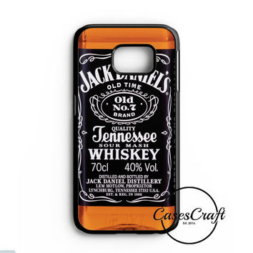 Jack Daniels Black Label Samsung Galaxy S7 Case