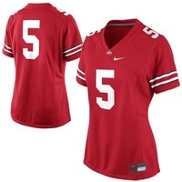 No. 5 Ohio State Buckeyes Nike Women's Game Jersey – Scarlet