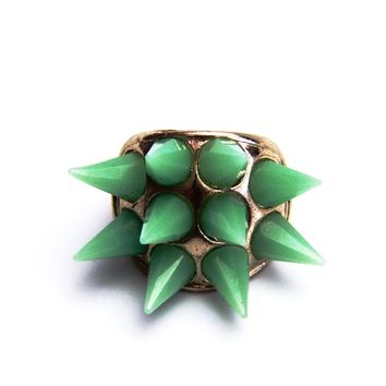 Spike Punk Stretch Ring