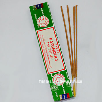 Satya Sai Baba Patchouli Incense Sticks 15 Gram on RoyalFurnish.com