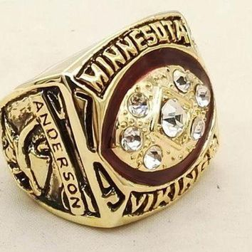 DCCKWA2 SPORTS RING * 1976 MINNESOTA 'VIKINGS' DIVISION * CHAMPIONS/ ...fast delivery
