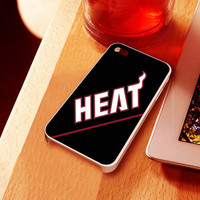 miami heat NBA  - iPhone 4 Case ,iPhone 5 case,samsung galaxy S2, s3 and Samsung galaxy s4 Hard Plastic Case