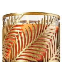 3-Wick Candle Sleeve Palm