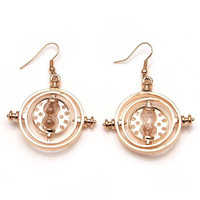 Time Turner Hourglass Drop Earrings