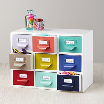 Color Reference Drawers in Bins & Baskets | The Land of Nod