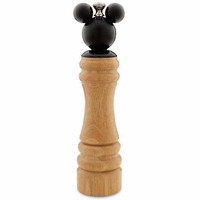 disney parks gourmet mickey mouse wooden pepper mill new