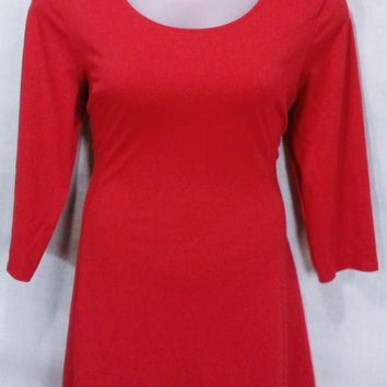 17207 Old Navy Knit Fit n Flare Swing Dress Size XL