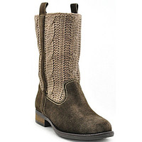 Sbicca Stateroute Tall Sweater Boots - Taupe