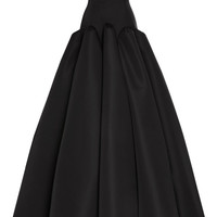 Silk Faille Strapless Gown by Zac Posen for Preorder on Moda Operandi