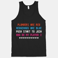 Plumbers Are Red (Tank) | HUMAN