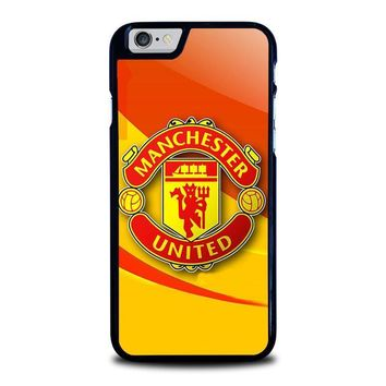 manchester united iphone 6 6s case cover  number 1