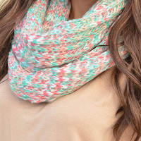 Sweet Like Cotton Candy Scarf: Multi