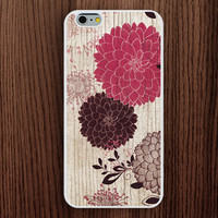 new iphone 6 case,wood grain flower iphone 6 plus case,new design iphone 5s case,vintage flower iphone 5c case,gift iphone 5 cover,women's gift iphone 4s case,personalized iphone 4 case