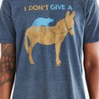I Don't Give A Rat Tee- Navy