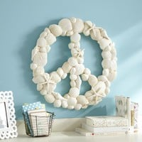 Shell Peace Sign