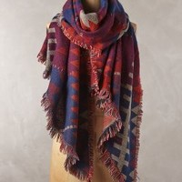 Ladder Fringe Scarf by Anthropologie
