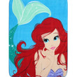 Disney The Little Mermaid Ariel Super Plush Throw