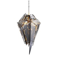 Smoke Glass Chandelier | Eichholtz Shard