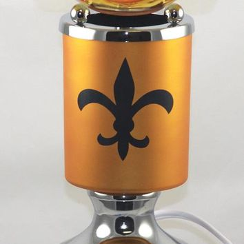 New Orleans Saints Table Fragrance Aroma Lamp Oil Diffuser Wax Tart Candle Warmer Burner Home Decor Touch Lamp