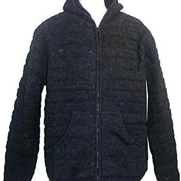 UFM 26 Agan Traders Lamb Wool Fleece Lined Sherpa Jacket Sweater