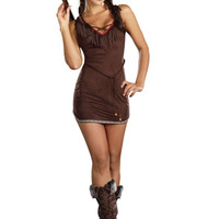 Dreamgirl Sexy Suede Native Beauty Costume indian costumes