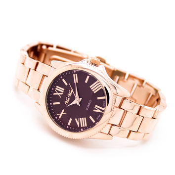 Classic roman metal watch (3 colors)
