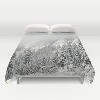 Winter Wonderland Duvet Cover by RDelean
