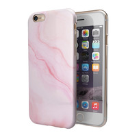 Marble Surface V Pink 2-Piece Hybrid INK-Fuzed Case for the iPhone 6/6s or 6/6s Plus