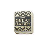 Great Gatsby Book Pin